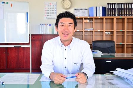 【工事担当】渋谷 勝義・佐藤 悠人 【営業担当】垣入 郁勝